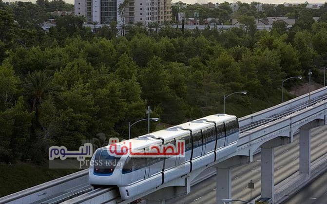"""إنشاء خطين للقطار السريع """"المورنوريل """"بالقاهرة"""