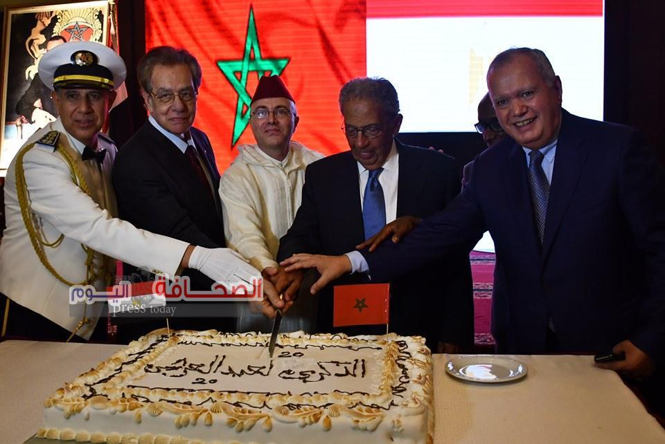 بالصور ..رموز المجتمع خلال الاحتفال بالعيد العشرين لجلوس الملك محمد السادس