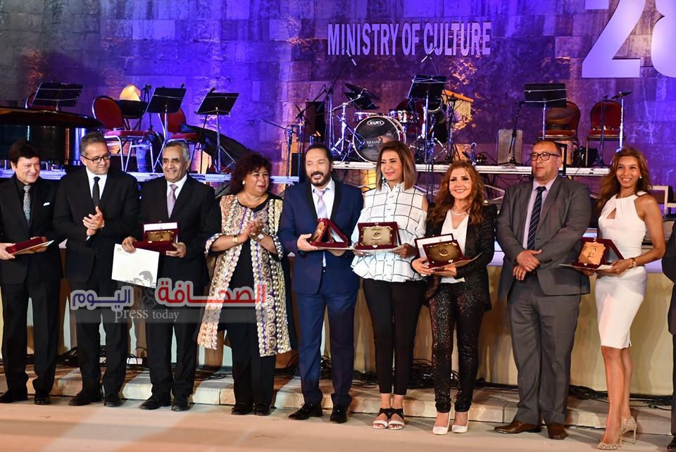بالصور ..  إفتتاح مهرجان القلعة للموسيقى والغناء