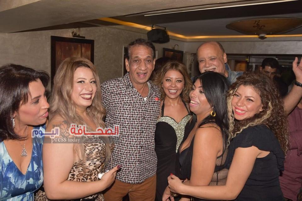 رشا عادل تحتفل بعيد ميلادها بحضور السبكى