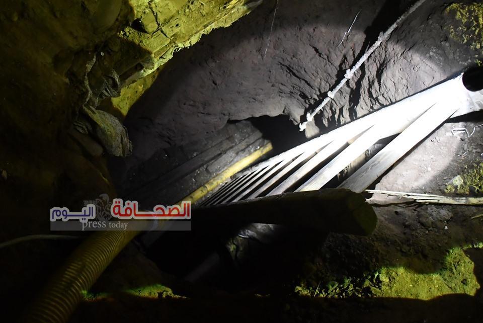 حبس عاطل قام بأعمال حفر بمعبد أثرى بميت رهينة