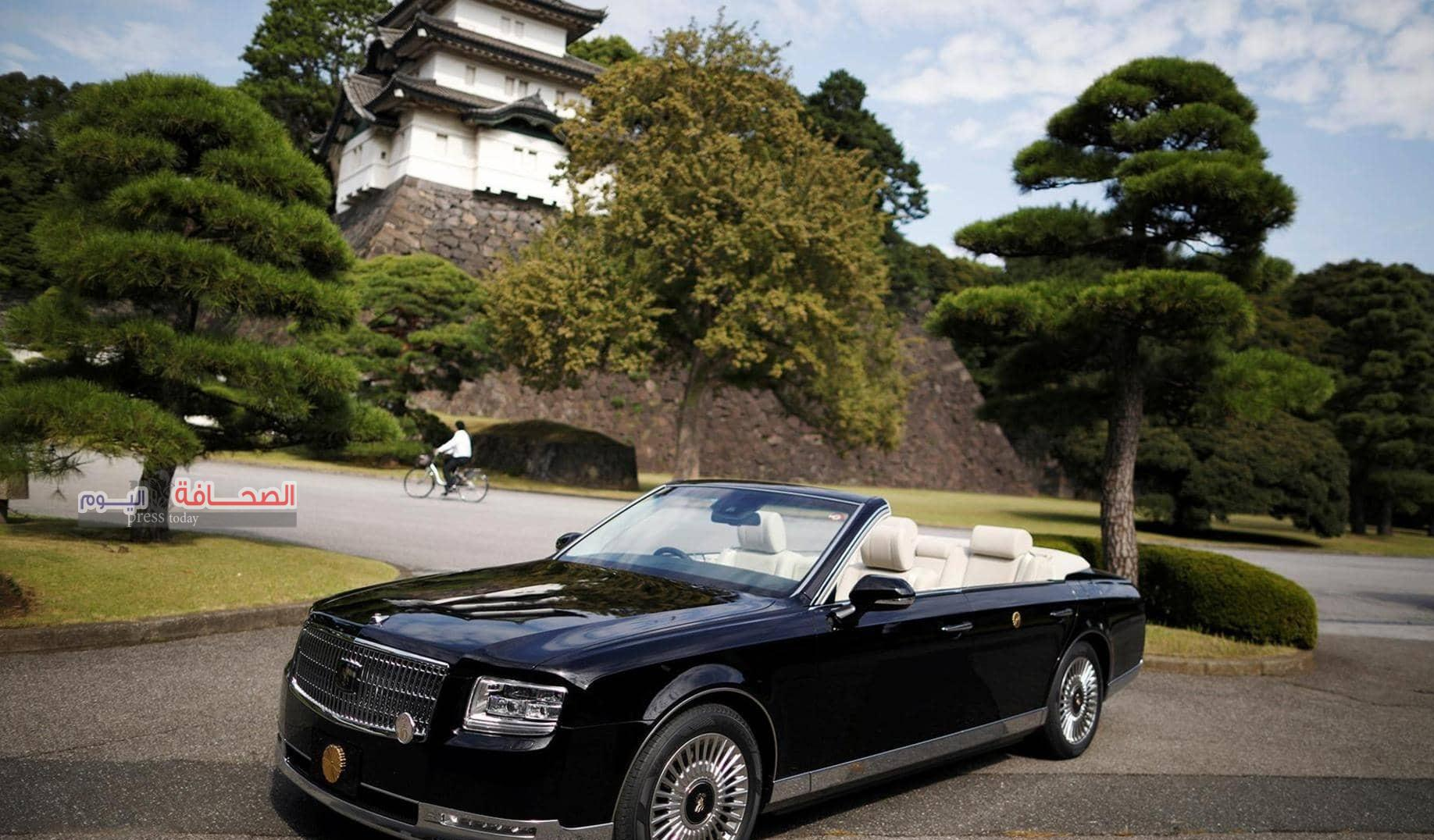 """تعرف على مواصفات  :""""تويوتا سنتشري"""" سيارة إمبراطور اليابان"""