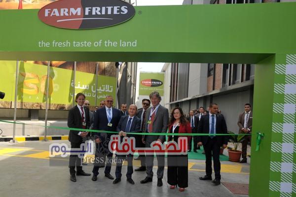 إفتتاح أحدث مصانع فارم فريتس مصر بالعاشر من رمضان باستثمارات 40 مليون دولار
