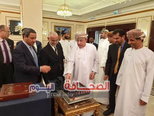 سفارة سلطنة عُمان بالقاهرة تقيم حفل تكريم ووداع للدكتور على العيسائي