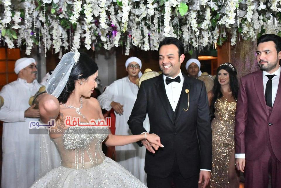 زفاف ميرا سعد وعبد الغنى الصائغ بحضور نجوم المجتمع