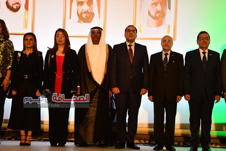 بالصور .. رئيس الوزراء وكبار الشخصيات فى الاحتفال بالعيد الوطنى للامارات