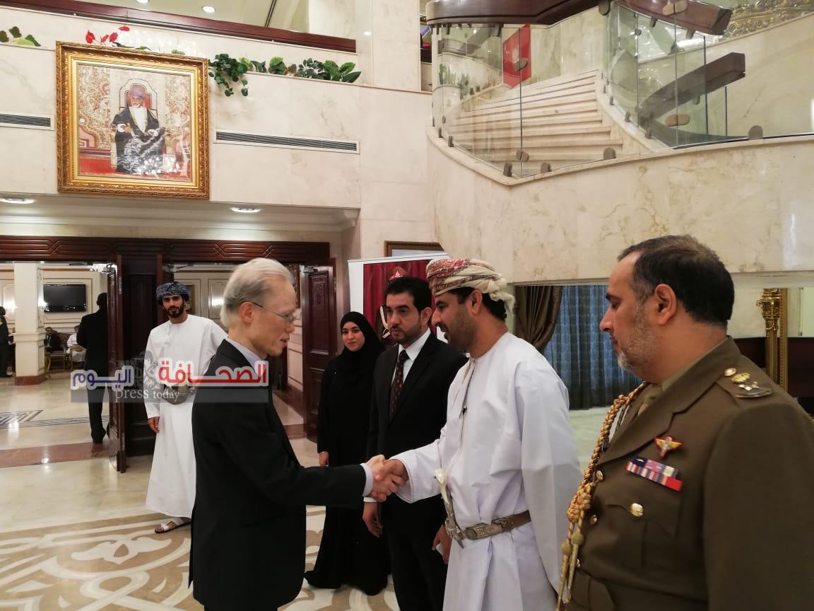 سفارة عُمان بالقاهرة تتلقى التعازي فى وفاة السلطان قابوس