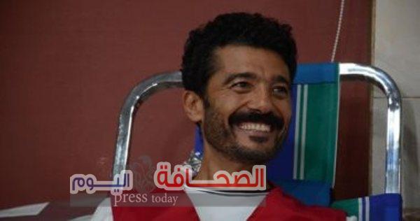 """الفنان """"خالد النبوى"""" يتماثل للشفاء بعد تركيب دعامه له بالقلب"""