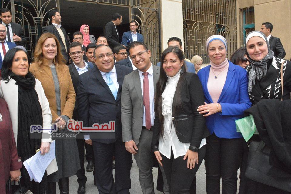 بالصور .. حفل تكريم أوائل خريجى كليات جامعة حلوان