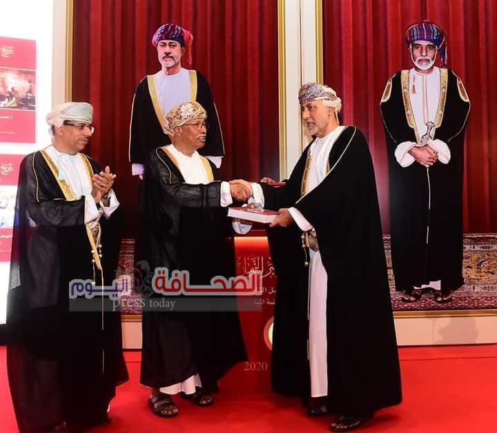 صاحب السمو السيد شهاب بن طارق آل سعيد مستشار جلالة السلطان يفتتح الدورة الـ25 لـ معرض مسقط الدولي للكتاب