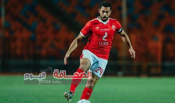 """النادي الأهلى  """"يتمنى التوفيق لأحمد فتحي لاعب الفريق الأول لكرة القدم"""