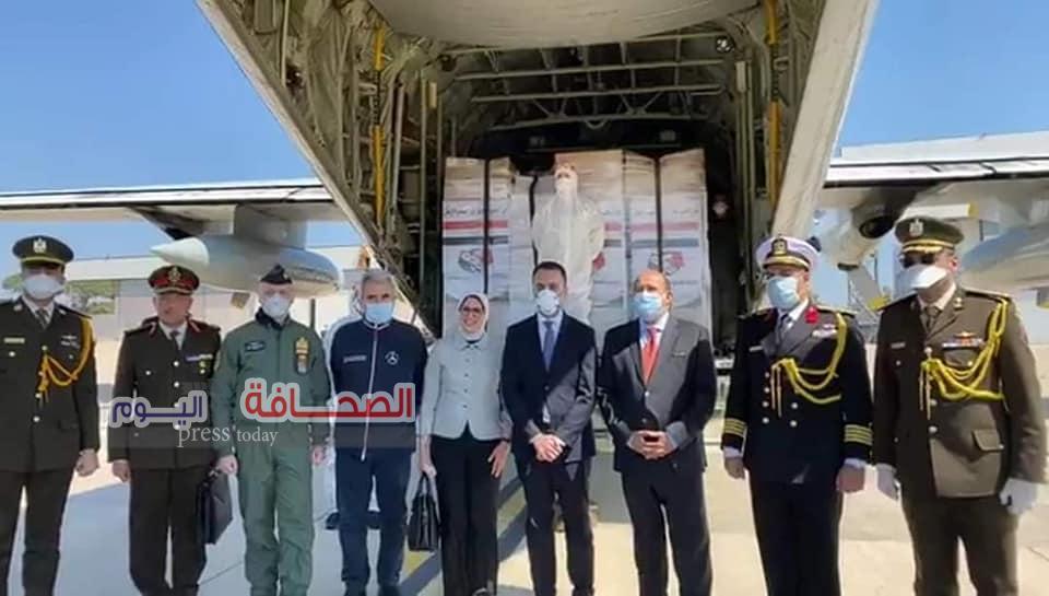 طائرتان عسكريتان تحملان مستلزمات طبية ومساعدات لإيطاليا