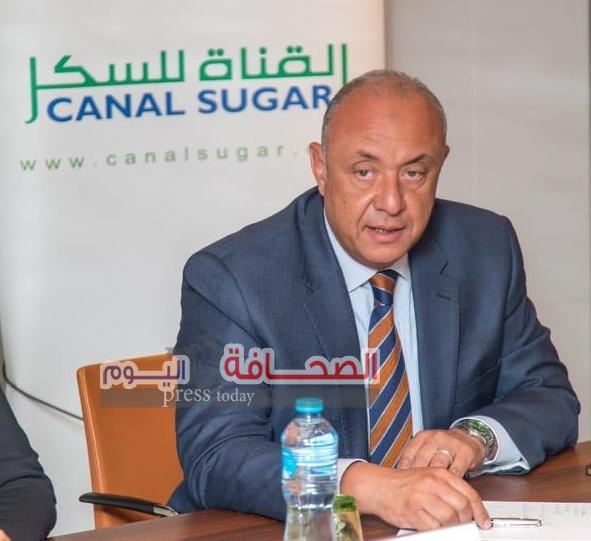 القناة للسكر تطلق المرحلة الأولى من خطة استصلاح 181 ألف فدان بغرب المنيا بالتعاون مع شركة الدياب