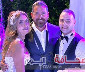 """بالصور:الفنان """"أمير كرارة"""" يحتفل بزفاف شقيقته"""