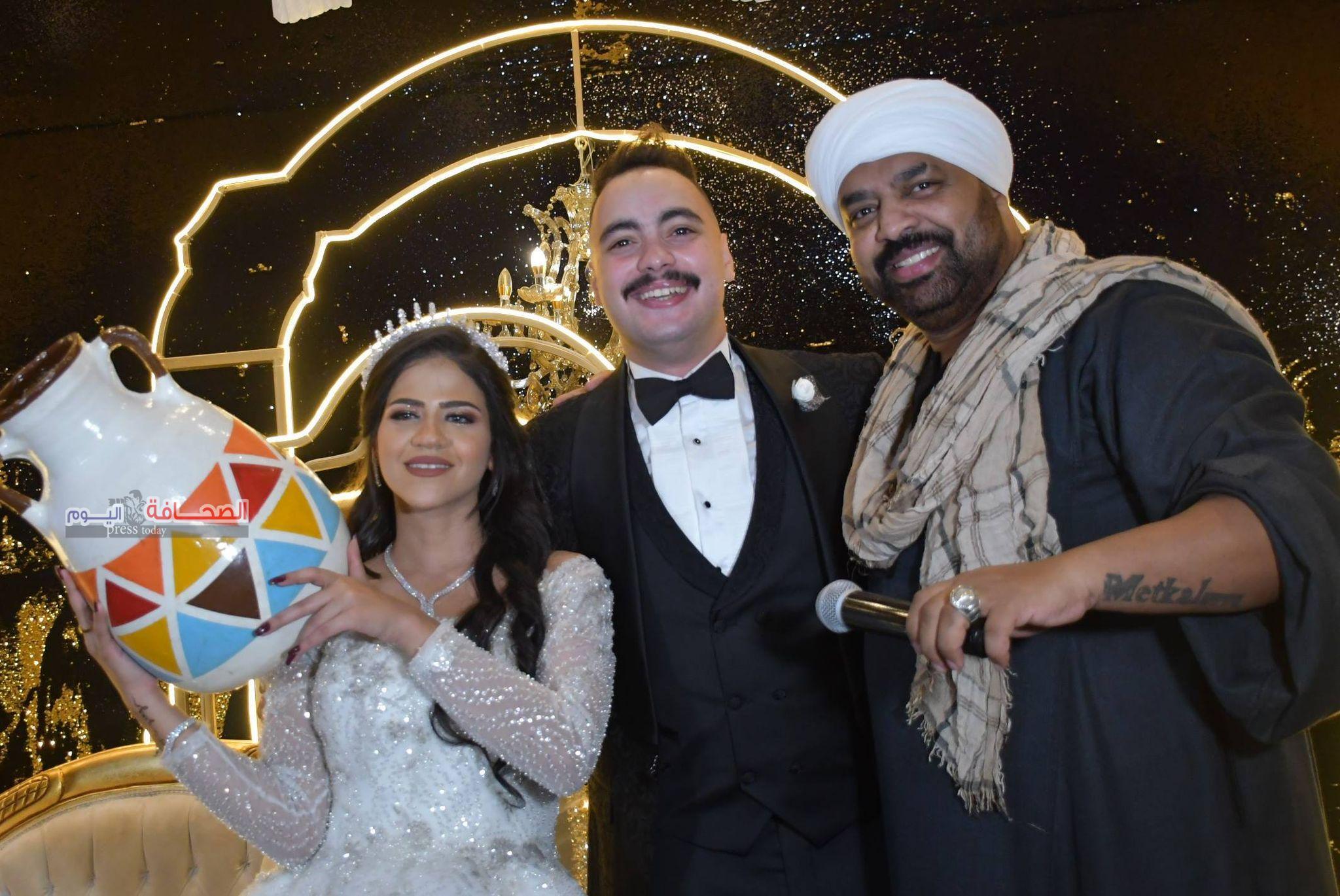 بالصور .. حفل زفاف رجل الأعمال نور مجدى ومى مصطفى