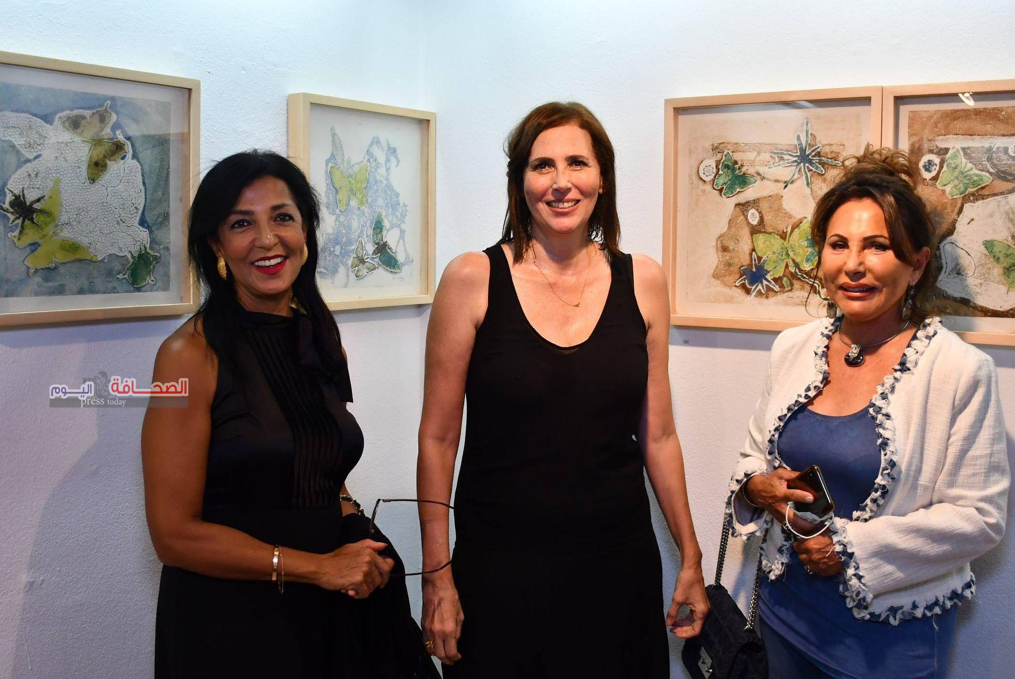 بالصور ..إفتتاح معرض ظل الفراشة بمركز الجزيرة للفنون