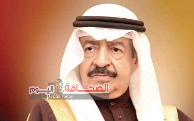 وفاة رئيس الوزراء الأمير خليفة بن سلمان آل خليفة.