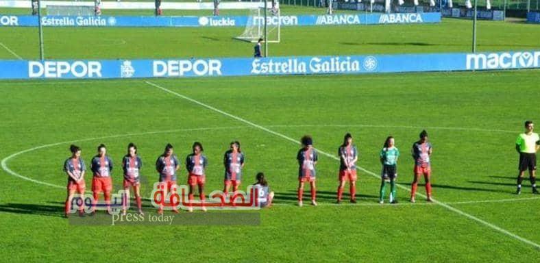 لاعبة كرة  قدم أسبانية ترفض الوقوف حدادآ على وفاة مارادونا :تعرف على السبب