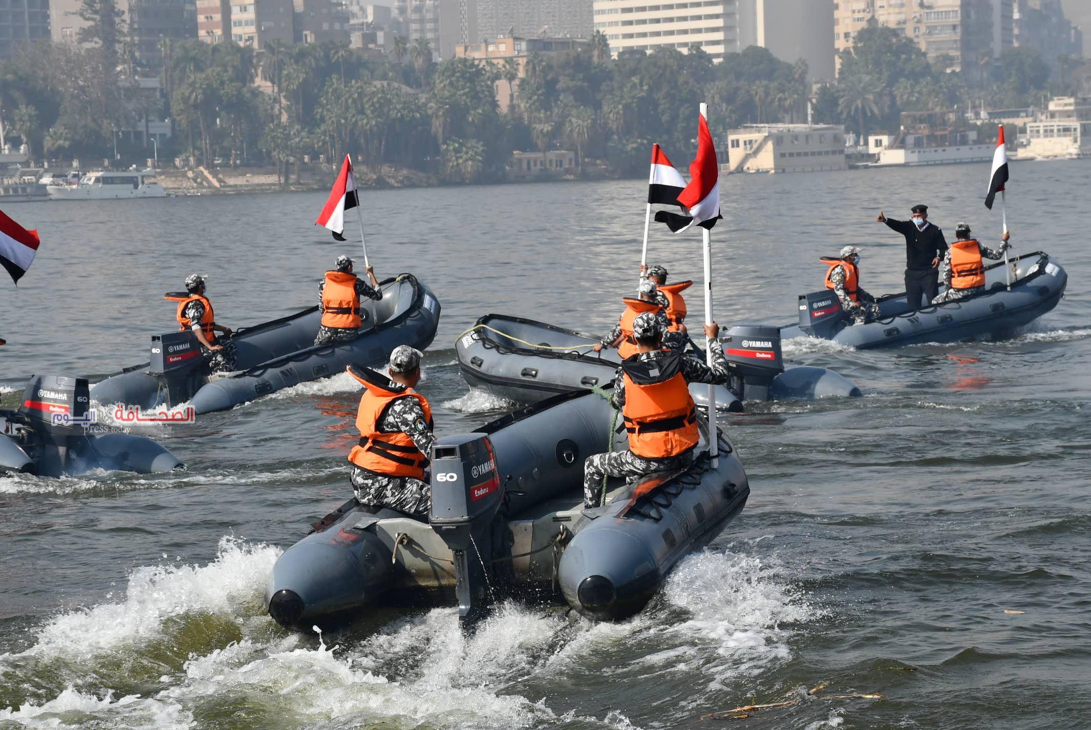بالصور .. إحتفال شرطة المسطحات المائية بعيد الشرطة