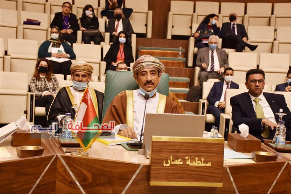 سلطنة عمان تشارك فى أعمال الدورة  الـ155 لمجلس جامعة_الدول_العربية
