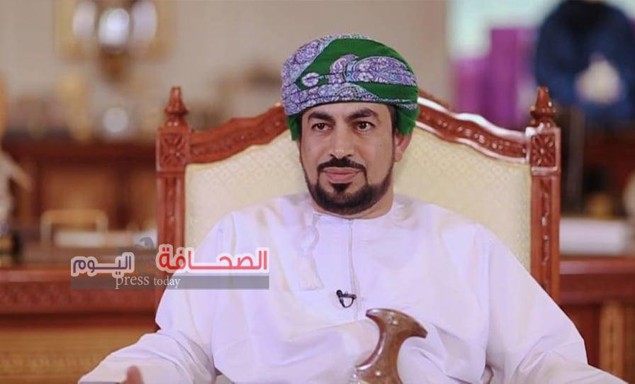 """وزير الأعلام العمانى""""الحراصي"""": السلطان هيثم بن طارق يقودنا بكل ثقة واعية نحو مستقبل أفضل"""