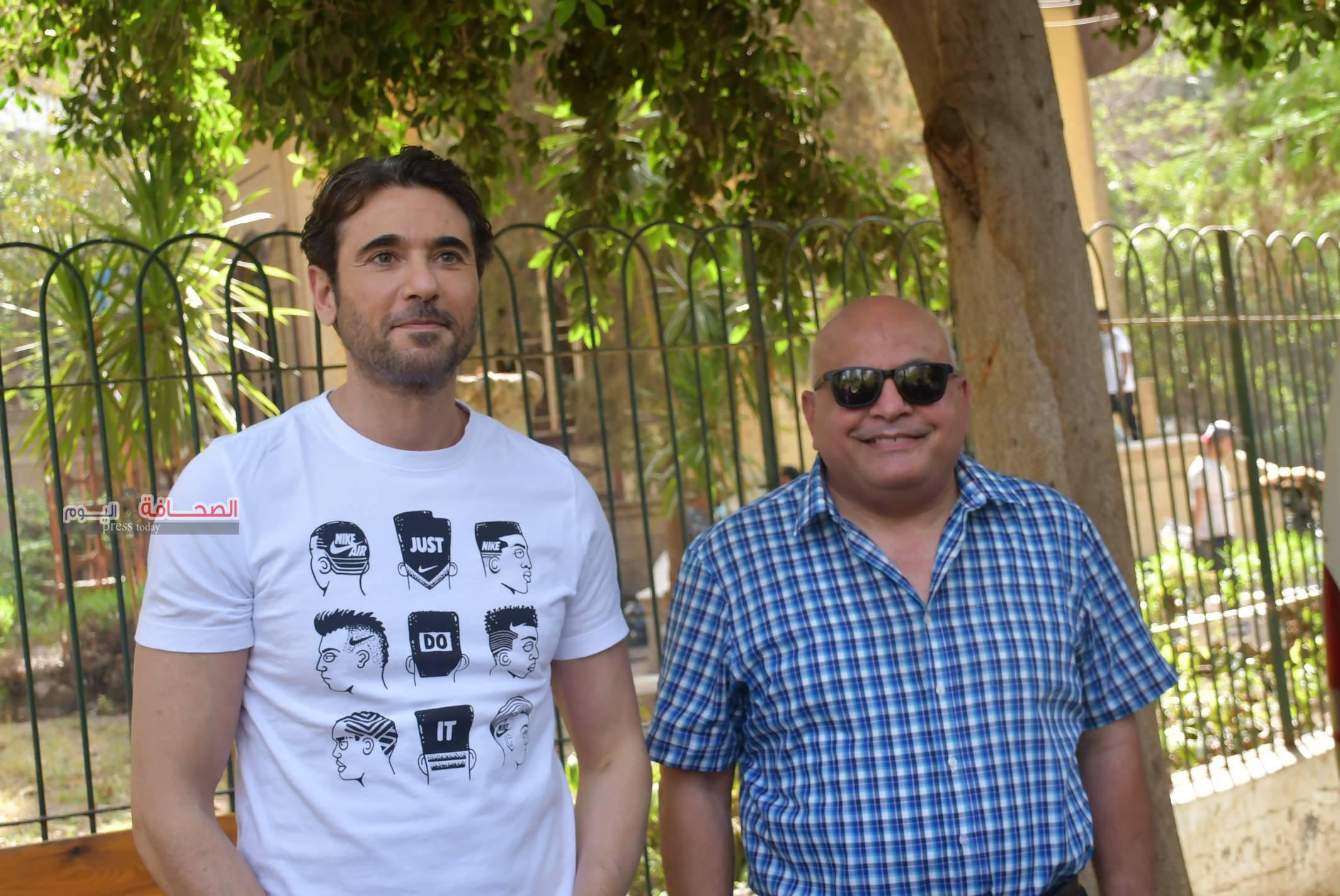 """تعرف على :سبب تصوير """"أحمد عز"""" مشاهد مسلسل """"هجمة مرتدة"""" بحديقة الحيوان بالجيزة"""