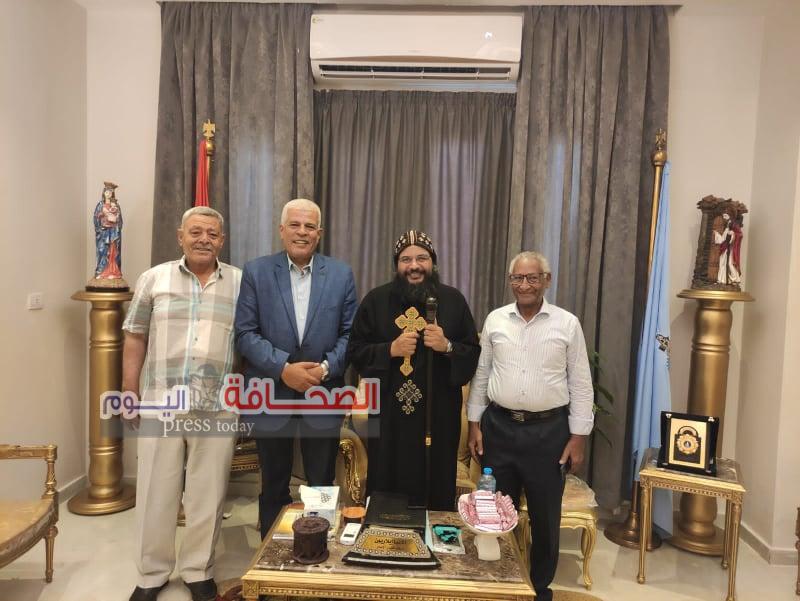 خليفة: يلتقي أسقف البحر الاحمر لدعم مشروع «حياة كريمة»