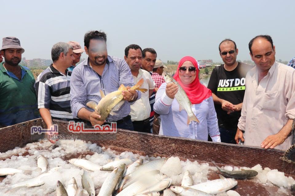 د. أميرة الحنفي :إنتاج سلالة من السمك البلطي مقاوم للأمراض والبرد ..