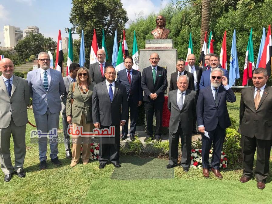 سفير المكسيك فى مصر خلال الاحتفال بيوم الاستقلال:علاقاتنا مع مصر تمتاز بالثراء والتعددية فى  كافة المجالات