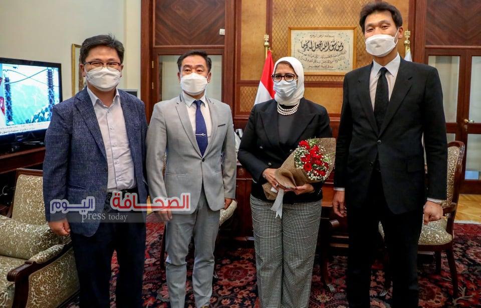 سفير دولة كوريا الجنوبية يؤكد اهتمام بلاده بتوسيع التعاون الثنائي مع مصر في القطاع الصحي